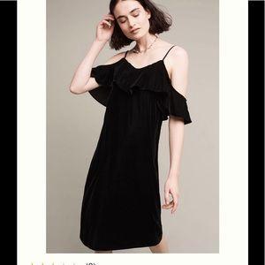 Anthropolgie Tracy Teese black velvet dress nwt